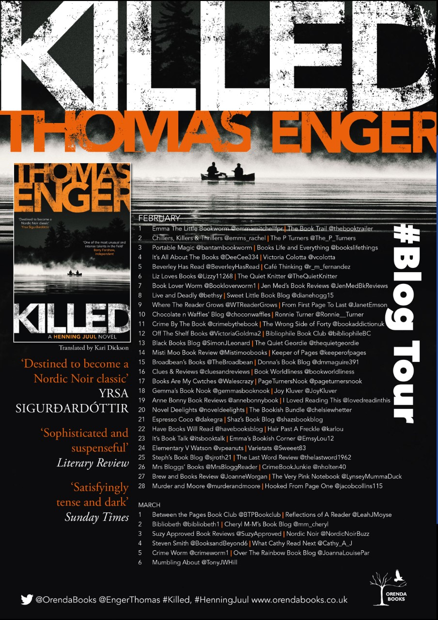 Killed Blog Tour Poster